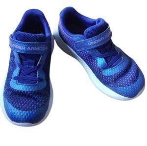 Under Armour-  Children's Size 10 Running Shoes